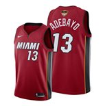 Men's Miami Heat Bam Adebayo Nike Red Statement Edition Swingman 2020 NBA Finals Jersey