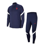2020-2021 France Nike Dry Strike Tracksuit (Navy)
