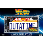 Bttf Outatime Licence Plate Replica