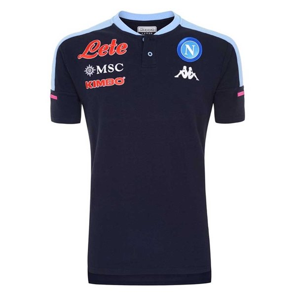 2020-2021 Napoli Polo Shirt (Deep Blue)