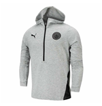 2020-2021 Man City Casuals Hoody (Light Grey)