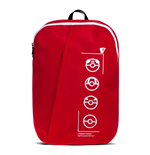 POKEMON Technical Trainer Backpack, Unisex, Red/Black