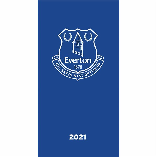 Everton FC Pocket Diary 2021