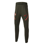 2020-2021 Portugal Strike Training Pants (Khaki) - Kids