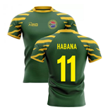 2020-2021 South Africa Springboks Home Concept Rugby Shirt (Habana 11)