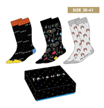 Friends Socks 3-Pack Symbols 35-41