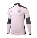 2020-2021 Man City Half Zip Training Top (Lilac Snow)