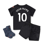 2020-2021 Manchester City Away Baby Kit (Your Name)