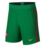 2020-2021 Portugal Nike Home Vapor Match Shorts (Green)