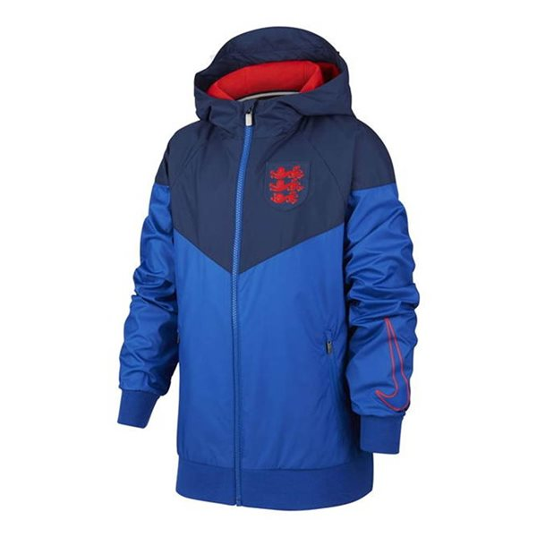 2020-2021 England Nike Authentic Windrunner Jacket (Blue)