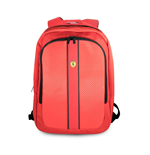 "Ferrari On Track Backpack 15"" With Usb Connector For Powerbank Red"