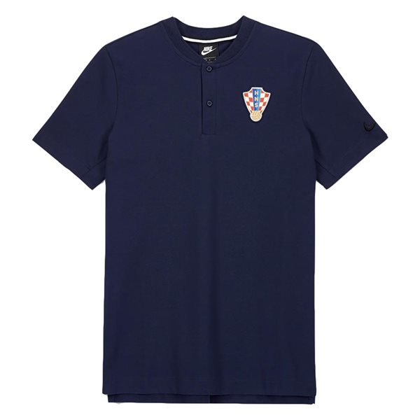 2020-2021 Croatia Authentic Polo Shirt (Obsidian)