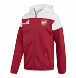 2020-2021 Arsenal ZNE Anthem Jacket (Red)