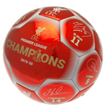 Liverpool FC Premier League Champions Football Signature RW