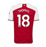 2020-2021 Arsenal Adidas Home Football Shirt (THOMAS 18)