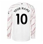 2020-2021 Arsenal Adidas Away Long Sleeve Shirt (Your Name)