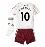 2020-2021 Arsenal Adidas Away Little Boys Mini Kit (Your Name)
