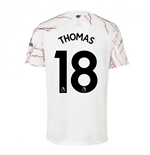 2020-2021 Arsenal Adidas Away Football Shirt (THOMAS 18)