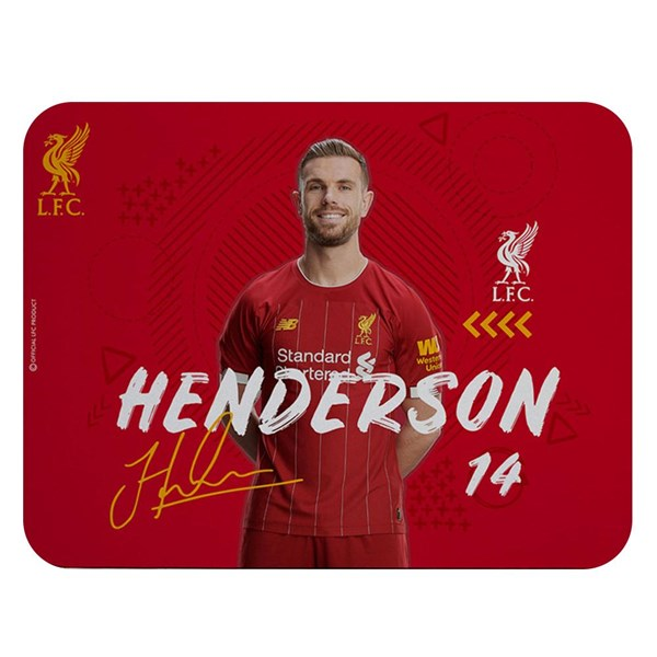 Liverpool FC Mouse Mat Henderson