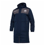 2020-2021 Scotland Below Knee Long Puffa Jacket (Navy)