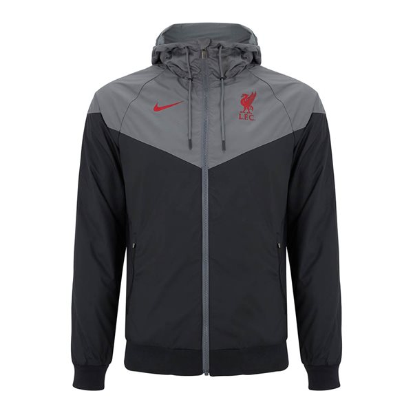 2020-2021 Liverpool Authentic Windrunner Jacket (Black-Grey)