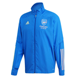 2020-2021 Arsenal Presentation Jacket (Glory Blue)
