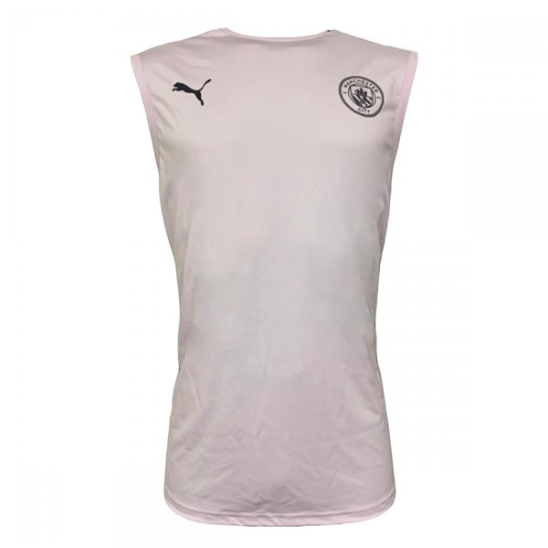 2020-2021 Man City Sleeveless Shirt (Lilac Snow)