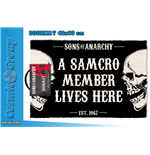Sons Of Anarchy Samcro Doormat