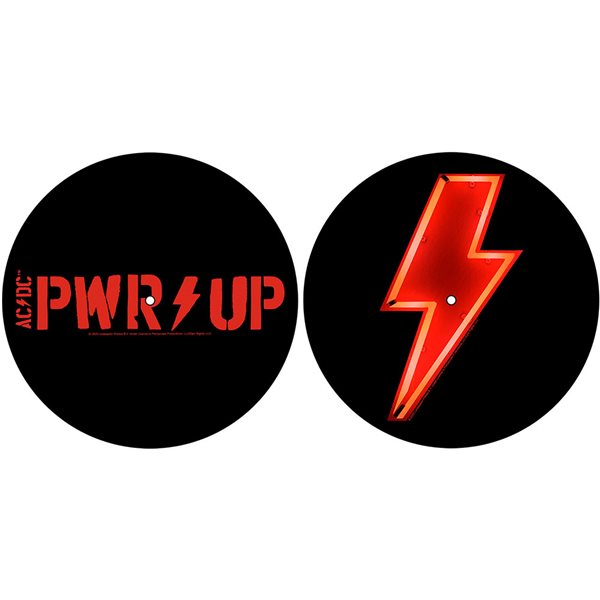 ACDC Turntable Slipmat Set: PWR-UP (Retail Pack)
