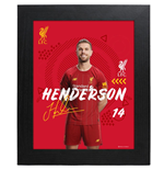 Liverpool FC Picture Henderson 10 x 8