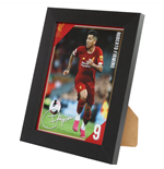 Liverpool FC Picture Firmino 8 x 6
