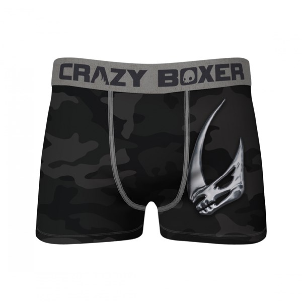 Star Wars The Mandalorian Mudhorn Crest Black Camo Crazy Boxer Briefs