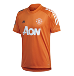 2020-2021 Man Utd Training Shirt (Orange)