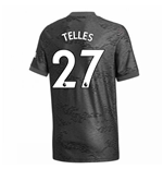 2020-2021 Man Utd Adidas Away Football Shirt (Kids) (TELLES 27)