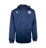 2020-2021 Scotland Heavy Cotton Full Zip Hoody (Navy) - Kids