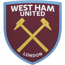 West Ham United FC Crest Cushion