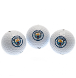 Manchester City FC Golf Ball Tube