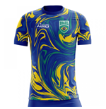 2020-2021 Brazil Away Concept Football Shirt - Womens