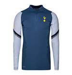 2020-2021 Tottenham CL Vapor Strike Drill Top (Mystic Navy)