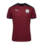2020-2021 Man City Training Shirt (Cordovan)