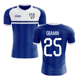 2020-2021 Everton Home Concept Football Shirt (Gbamin 25)