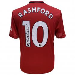 Manchester United FC Rashford Signed Shirt