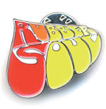 The Beatles Pin Badge: Rubber Soul