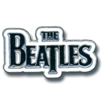 The Beatles Pin Badge: Drop T Logo