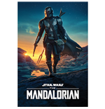 Star Wars: The Mandalorian Poster Nightfall 282