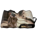 Star Wars The Mandalorian The Child Grogu on Ramp Car Sunshade