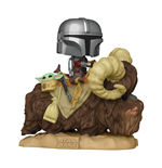Star Wars The Mandalorian on Bantha w/Child Deluxe Funko Pop!