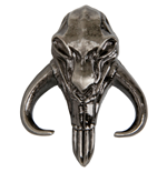 Star Wars The Mandalorian Mythosaur Crest Pewter Lapel Pin