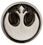 Star Wars Rebel Symbol Pewter Lapel Pin