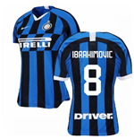 2019-2020 Inter Milan Home Nike Womens Football Shirt (IBRAHIMOVIC 8)